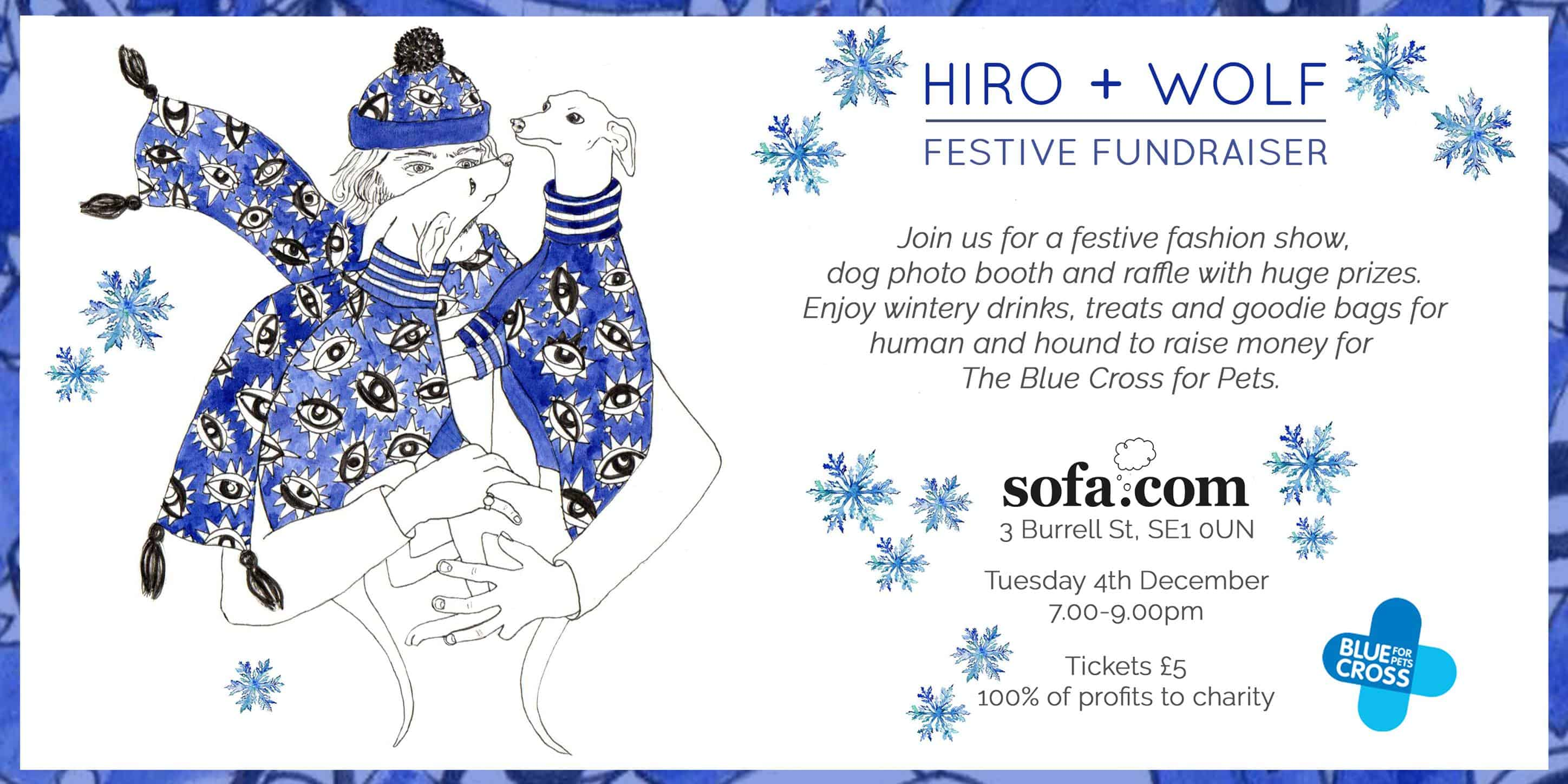 Hiro + Wolf Festive Fundraiser and Doggy Fashion Show