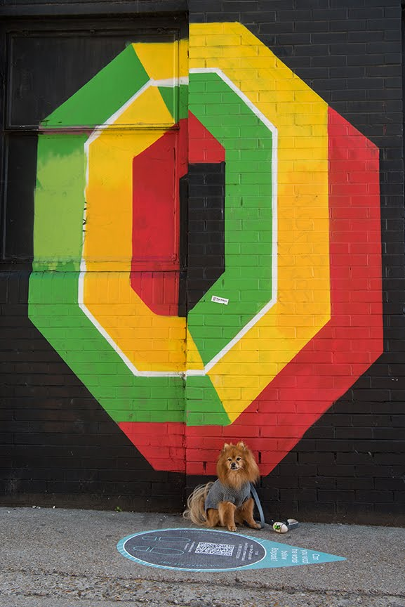 The Dogvine Guide To A Shoreditch Street Art Dog Walk - Ebor Street
