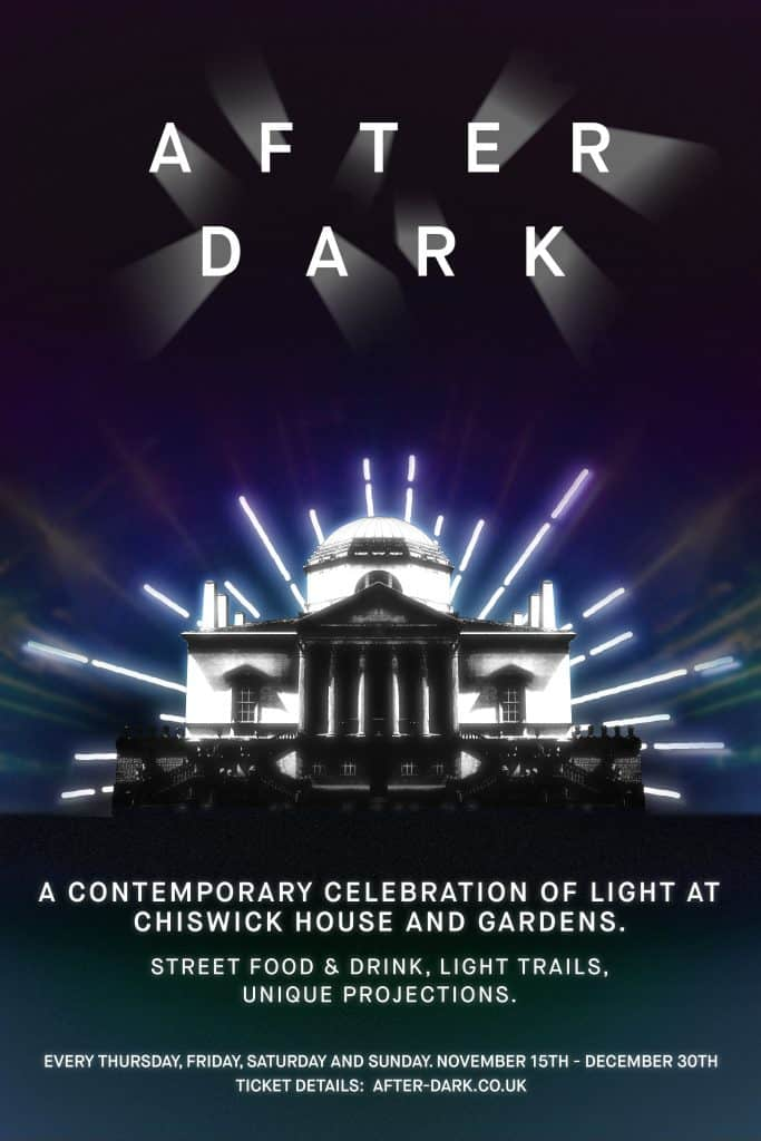 After Dark Chiswick House & Gardens 2018 Poster