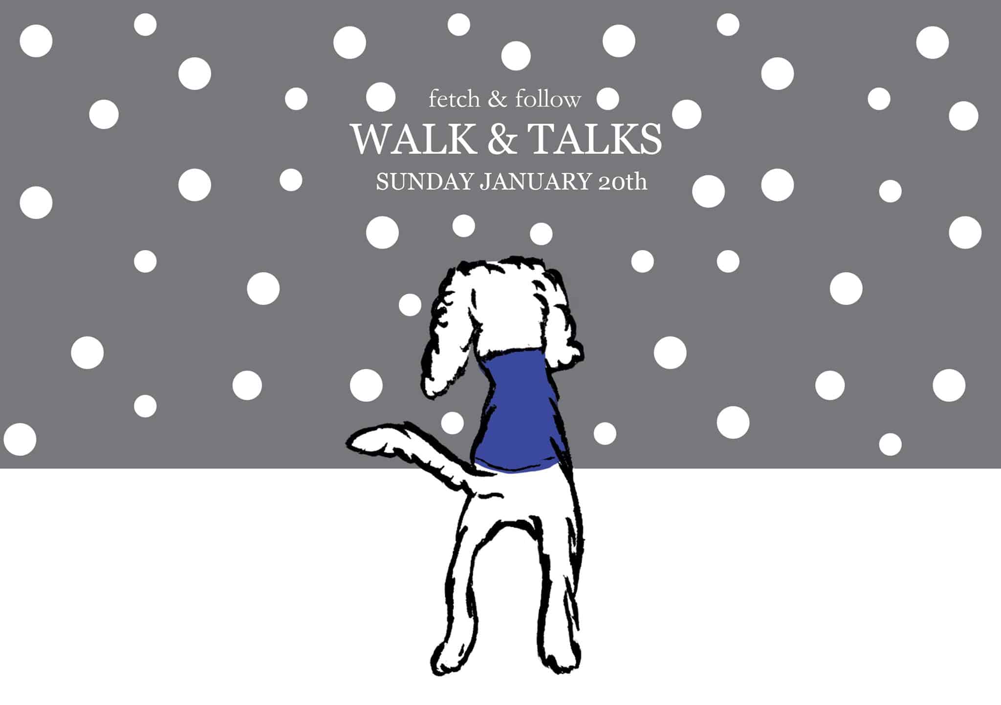 Fetch & Follow's Walk & Talk Series | January