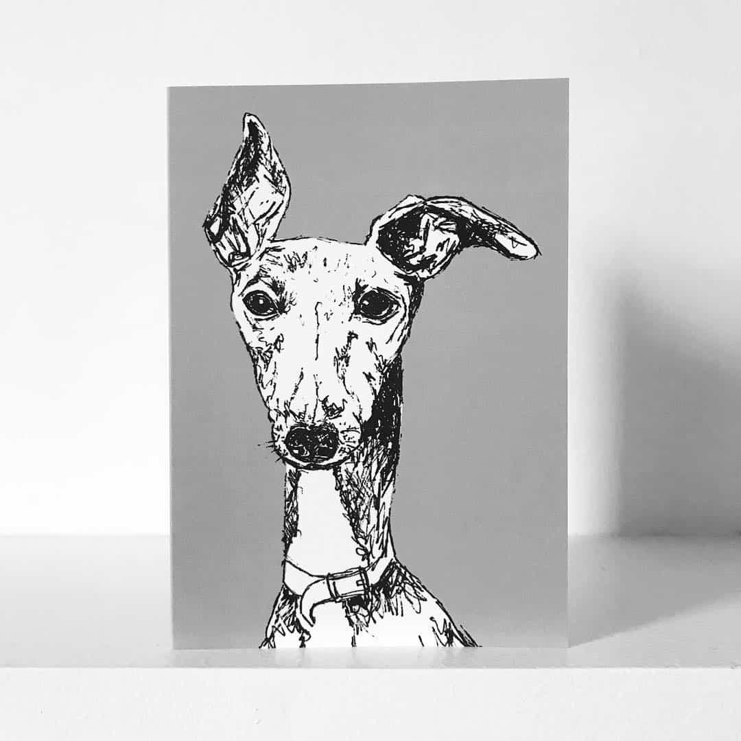 London Dog Portraits To Make You Smile - Rebecca Harrison Designs - Dog Portrait