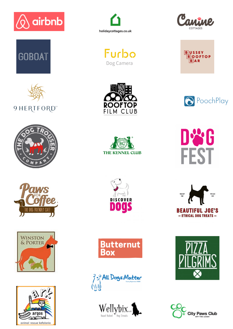 The Dogvine - Work With Us - Brands We've Worked With 2018