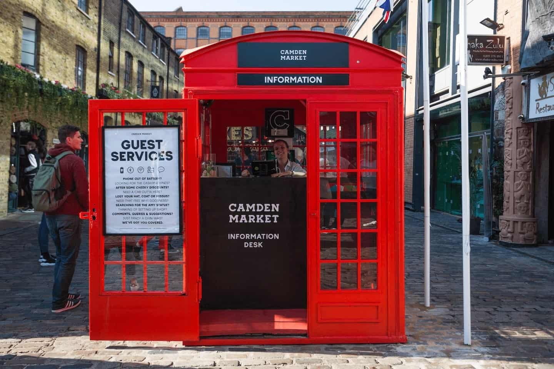 Best Dog-friendly Street Food Markets and Halls in London - Camden Market