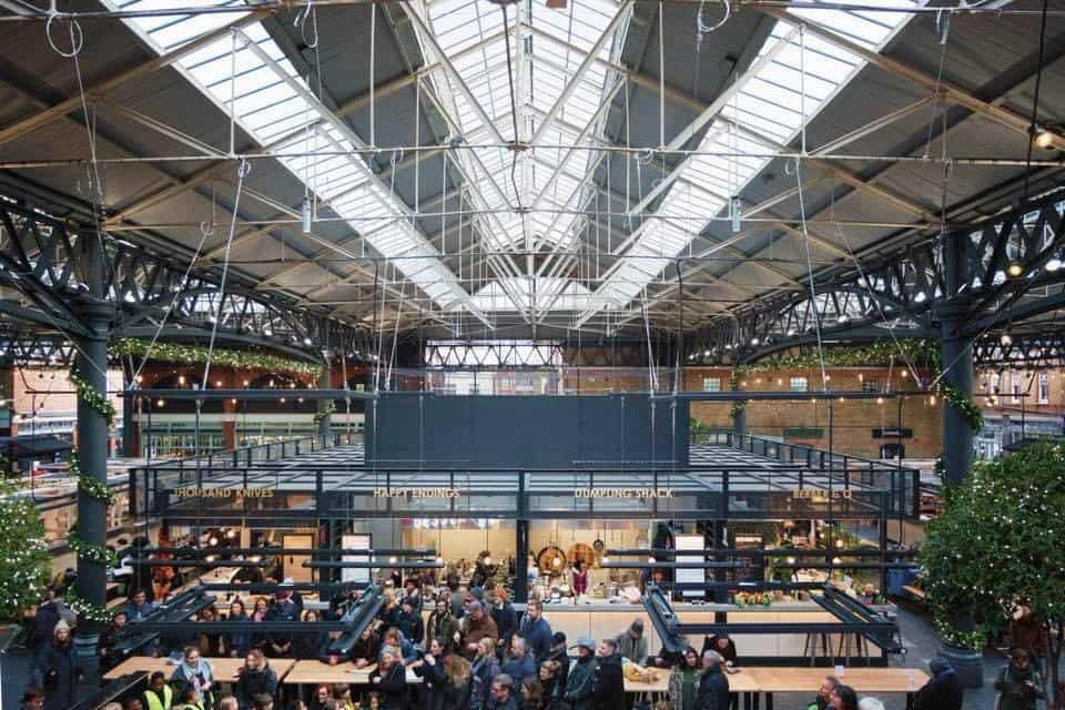 Best Dog-friendly Street Food Markets and Halls in London - Spitalfields Market