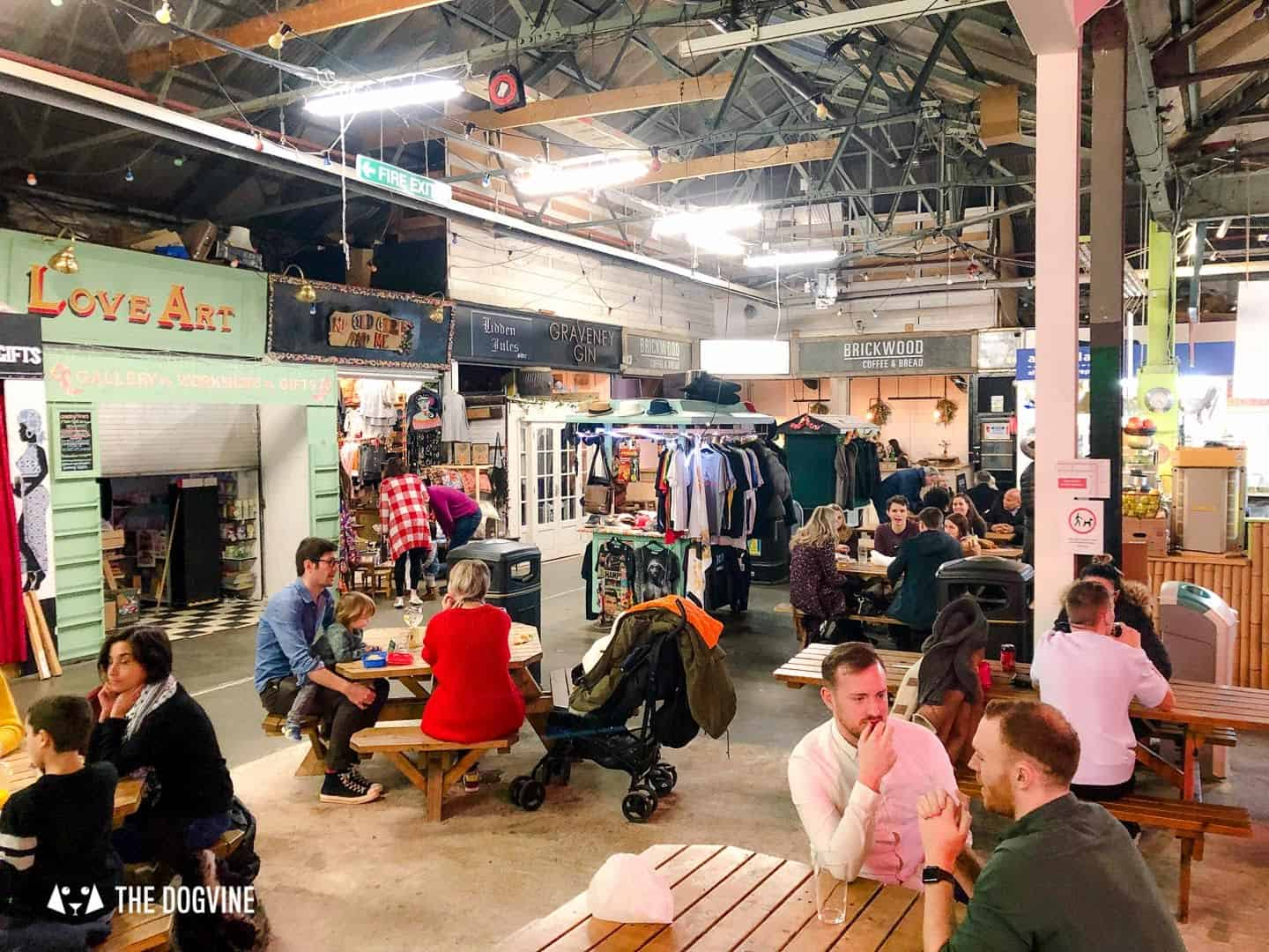 Best Dog-friendly Street Food Markets and Halls in London - Tooting Market