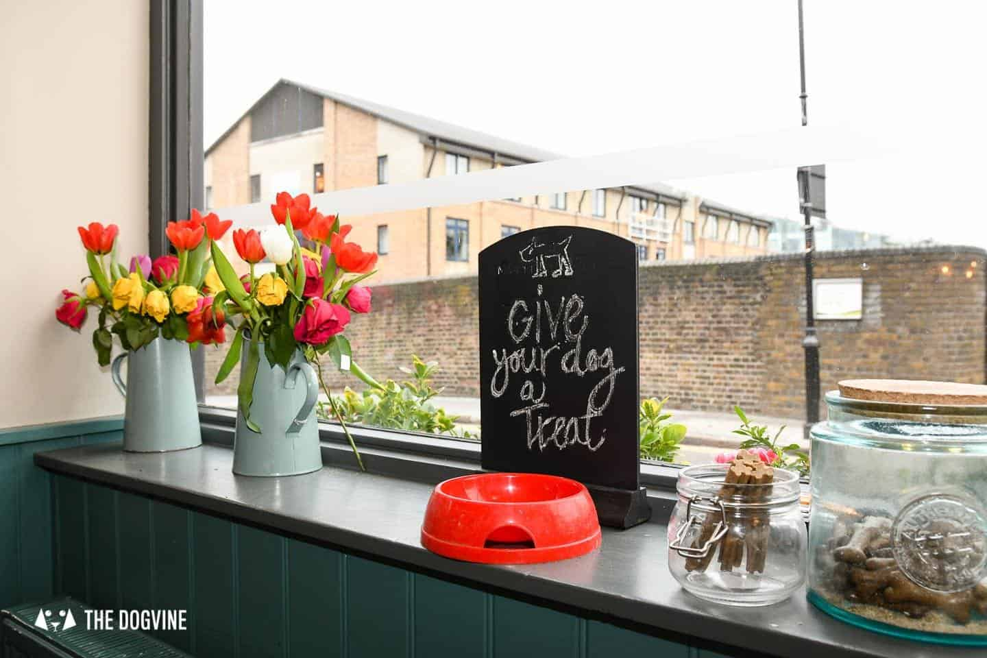 Dog-Friendly Islington | A Dog's Way Home Takeover - The Narrowboat Dog Treats Five Star Service