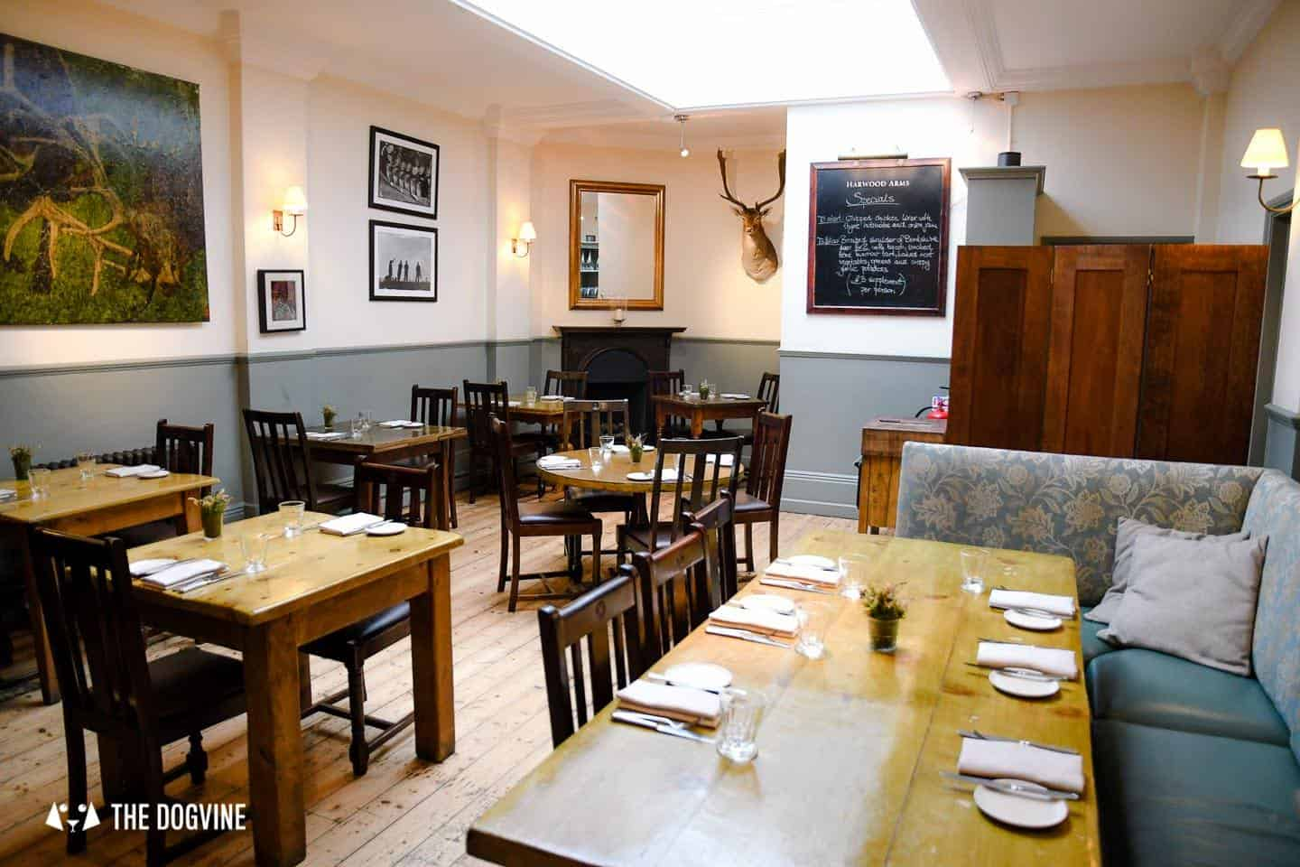 Dog-friendly Fulham - My Dog-friendly London - The Harwood Arms 2