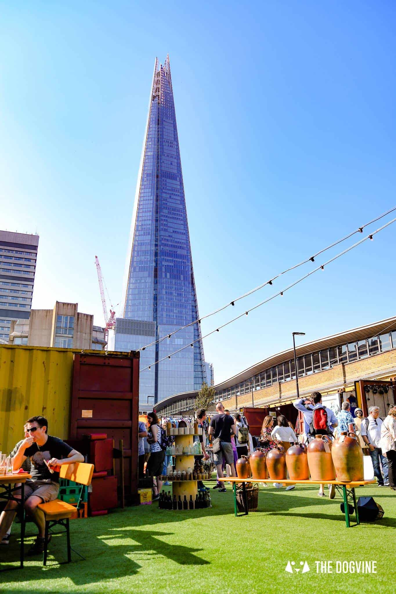 Guide To The Best Dog-friendly Street Food Markets and Halls in London - Vinegar Yard 4