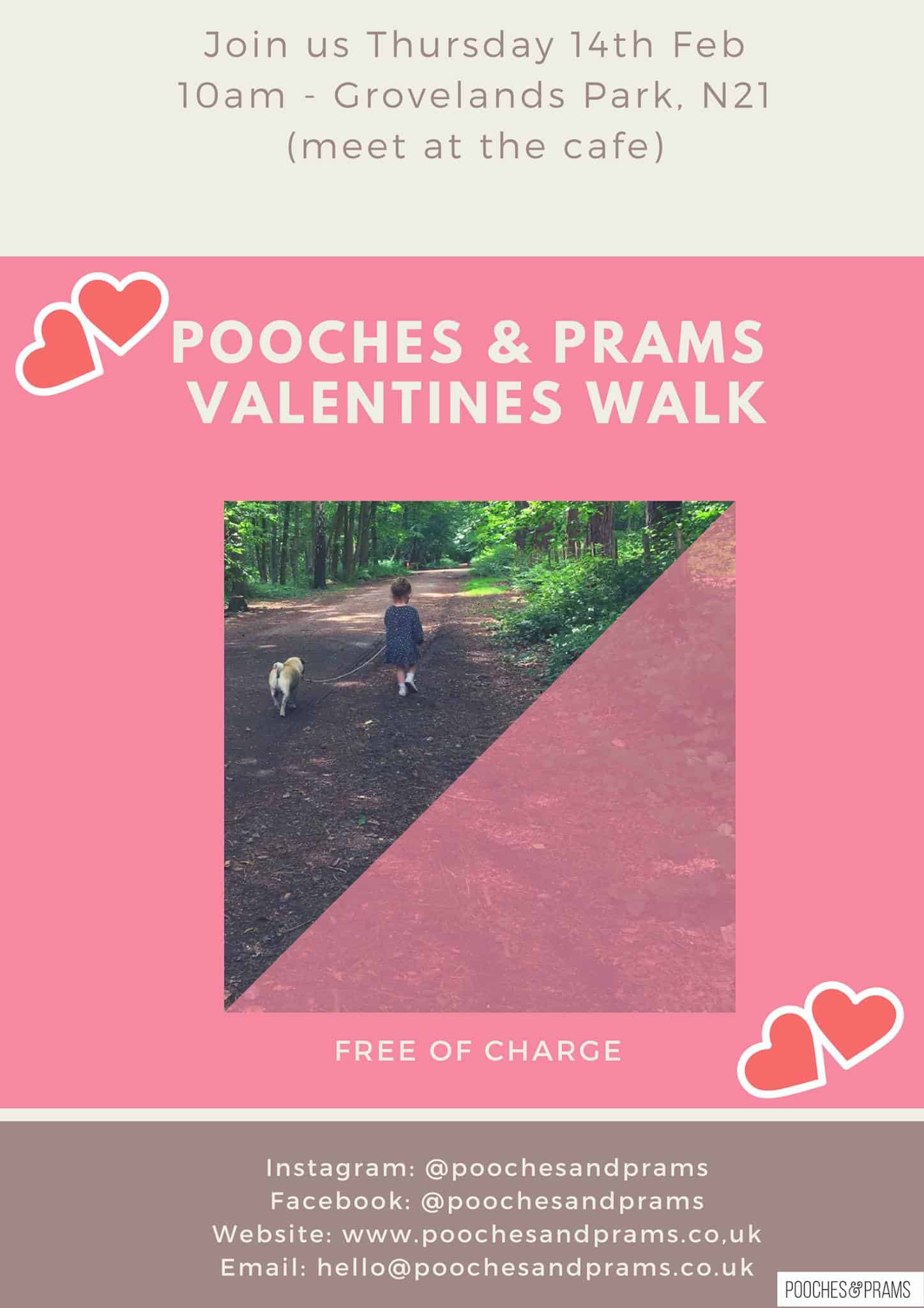 Pooches and Prams Valentines Walk