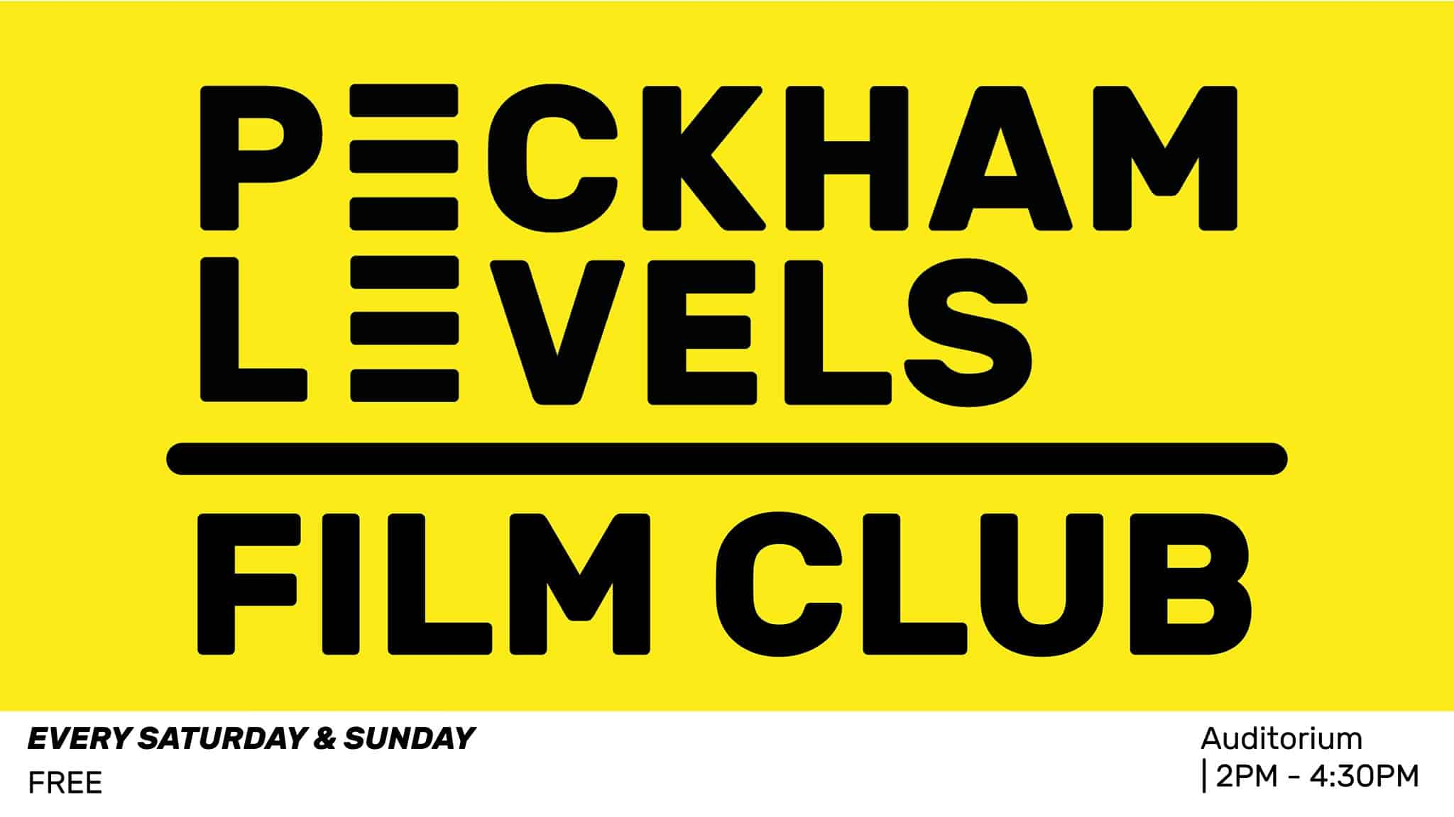 Dog-friendly Peckham Levels Film Club
