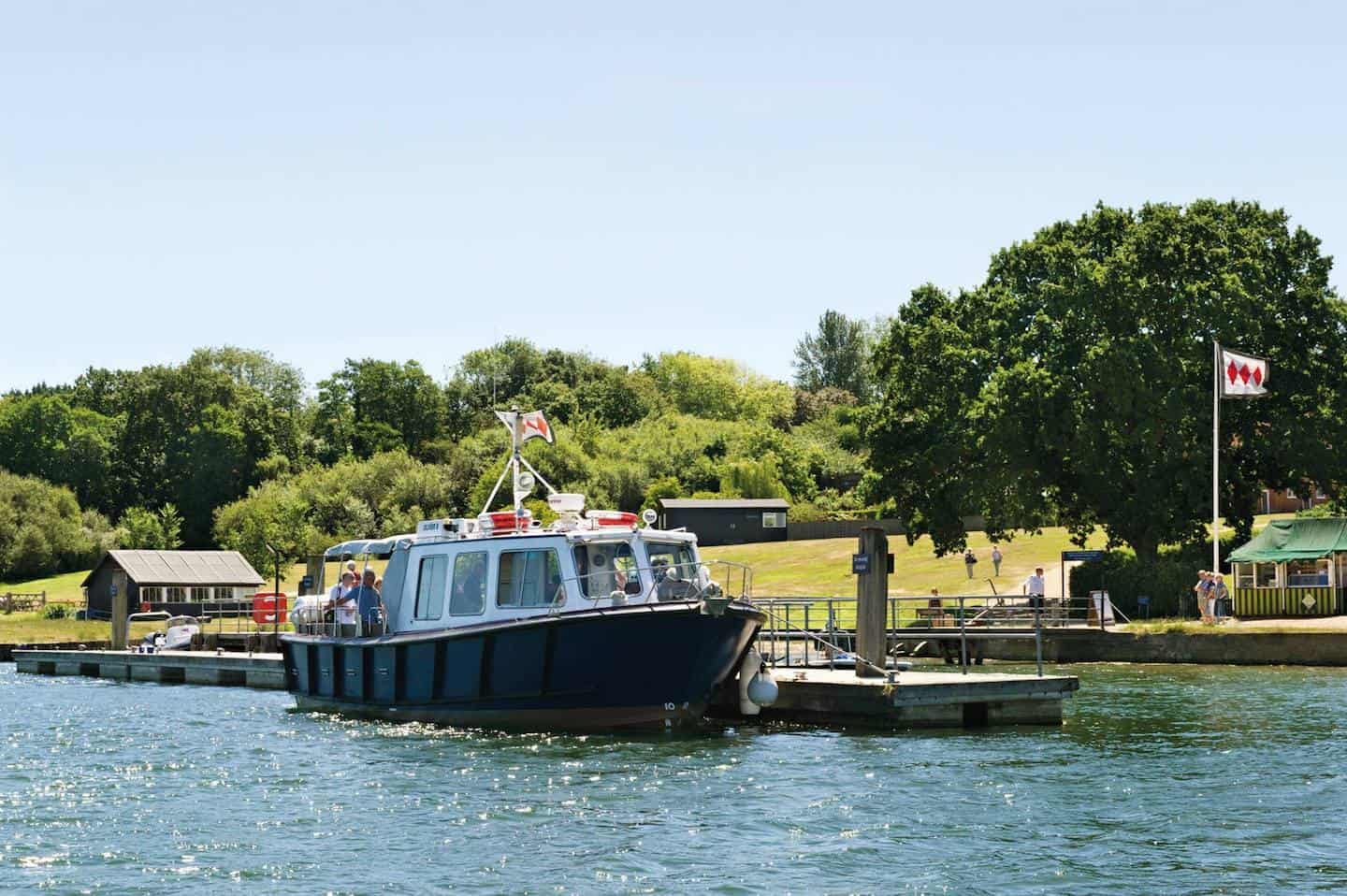 7 Dog-Friendly Things to Do In The New Forest - Bucklers Hard Cruise on the Beaulieu River