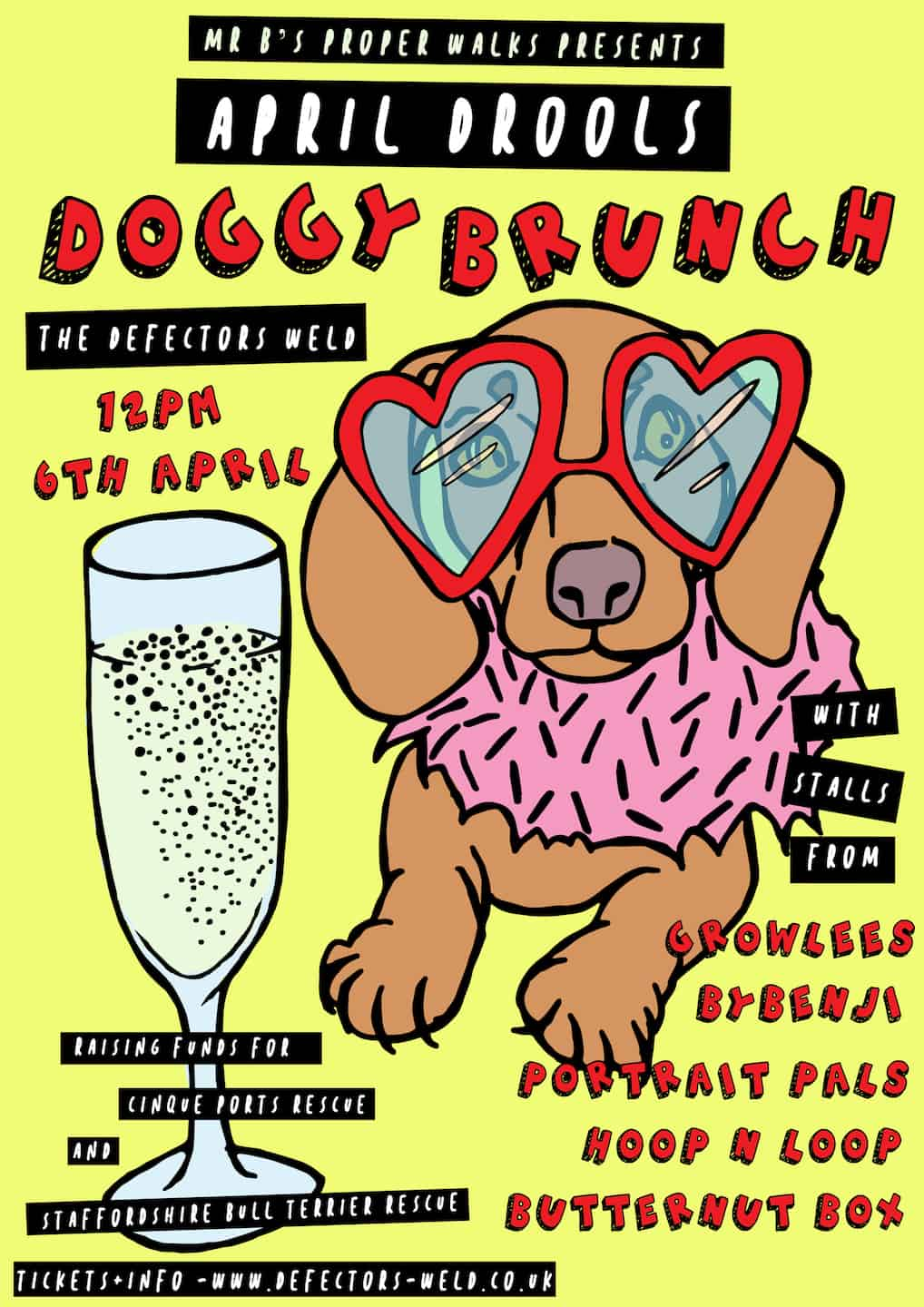 April Drools Dog Brunch