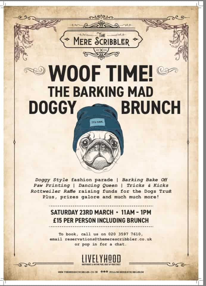 Woof Time Dog Brunch