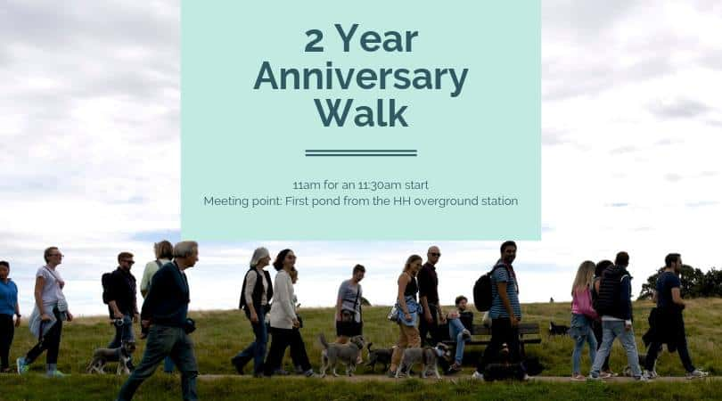2 Year Anniversary Hampstead Heath Schnauzer Walk