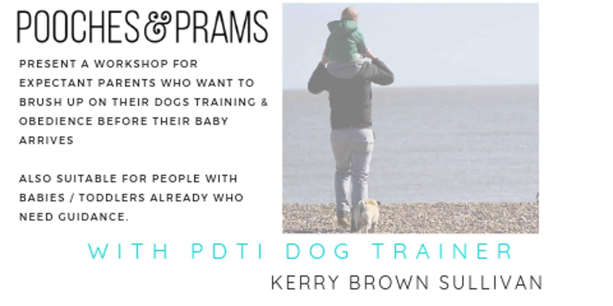 Dog Training Workshop For New Parents - Pooches & Prams