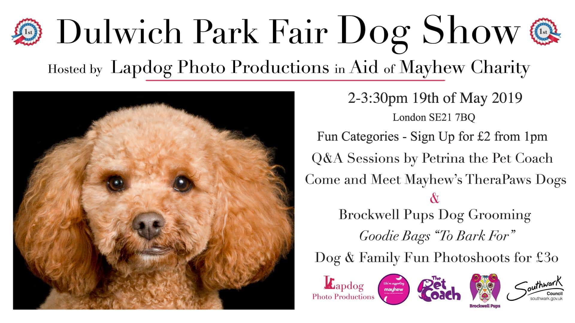 Dulwich Park Fair Dog Show