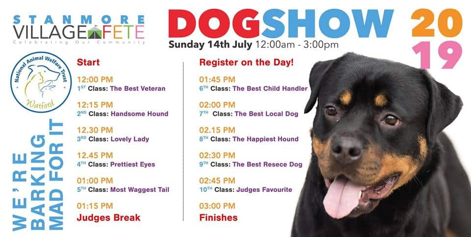 Stanmore Fete Dog Show 2019