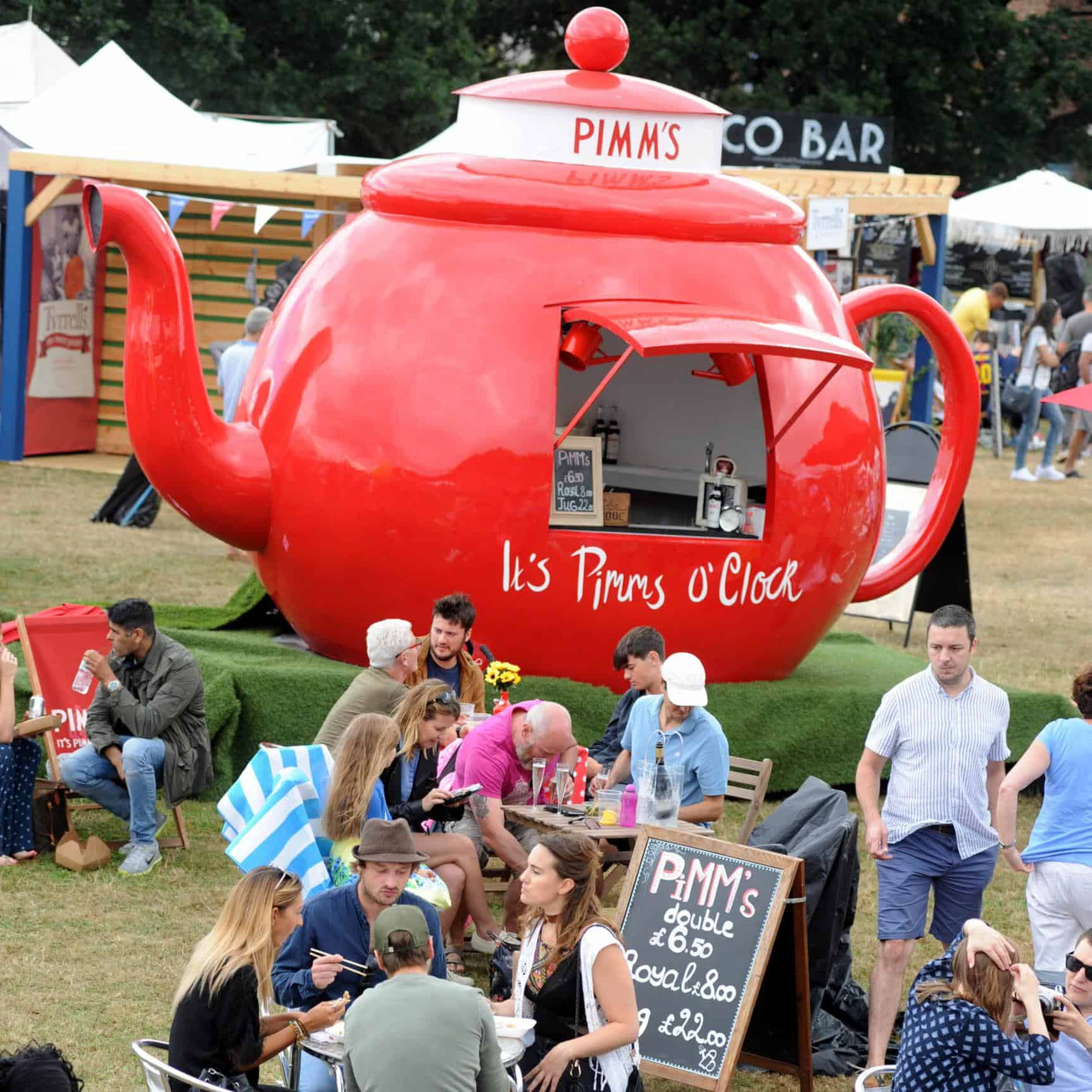 The Best Dog-friendly Festivals in London And Nearby - Foodies Festival London Syon Park