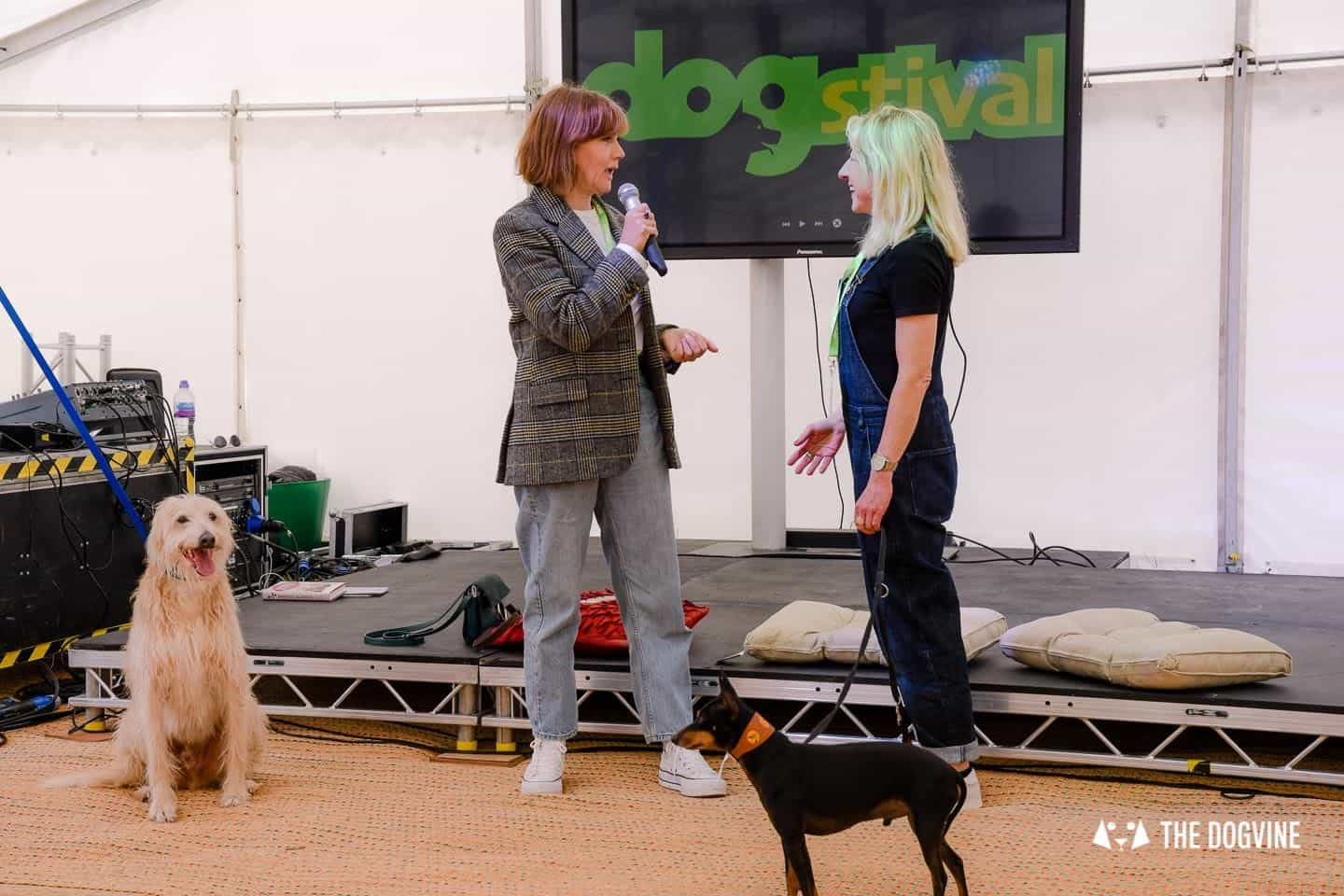 Dogstival New Forest Dog Festival - Kate Spicer and Anna Webb