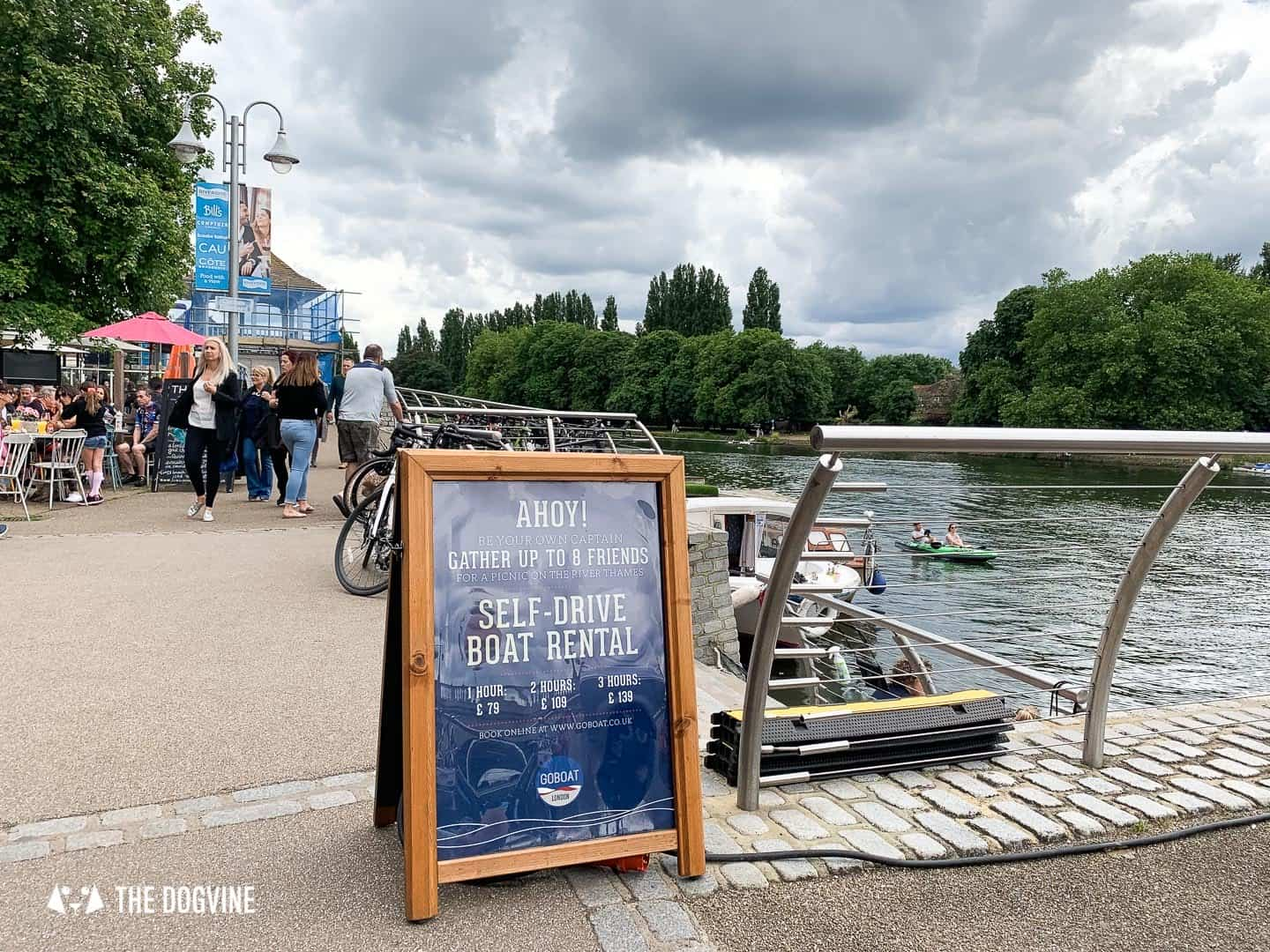 Dog-friendly Go Boat Kingston Upon Thames 52