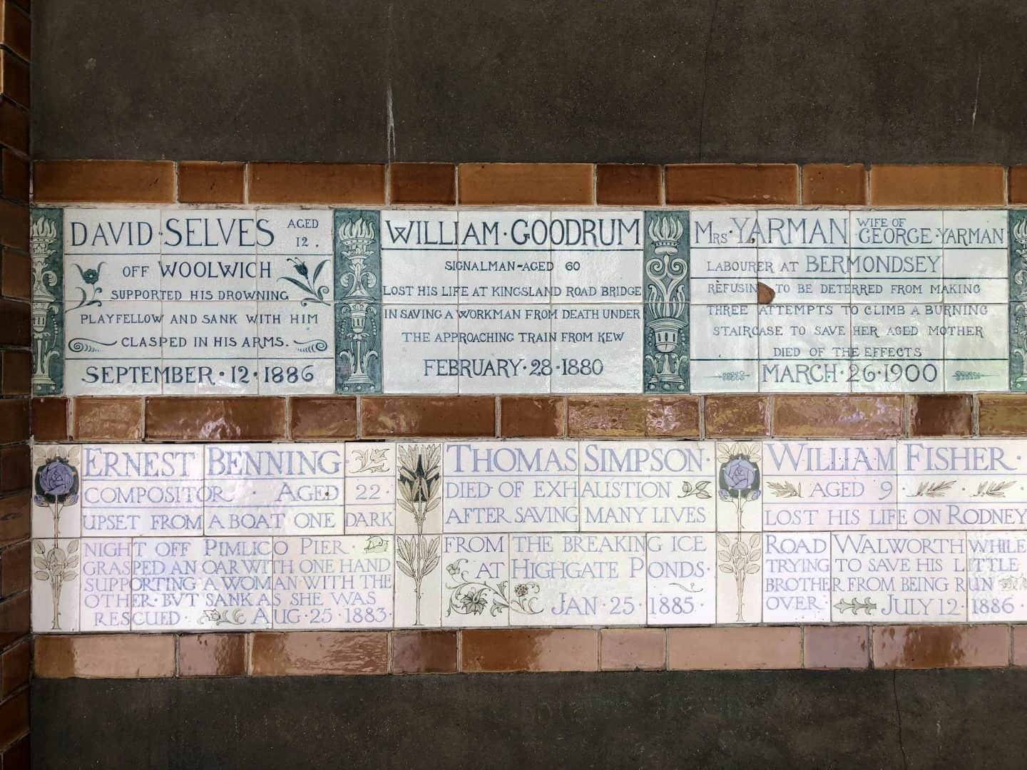 Dog-friendly London The Best Free Dog-friendly Things To Do - Postman's Park Memorial