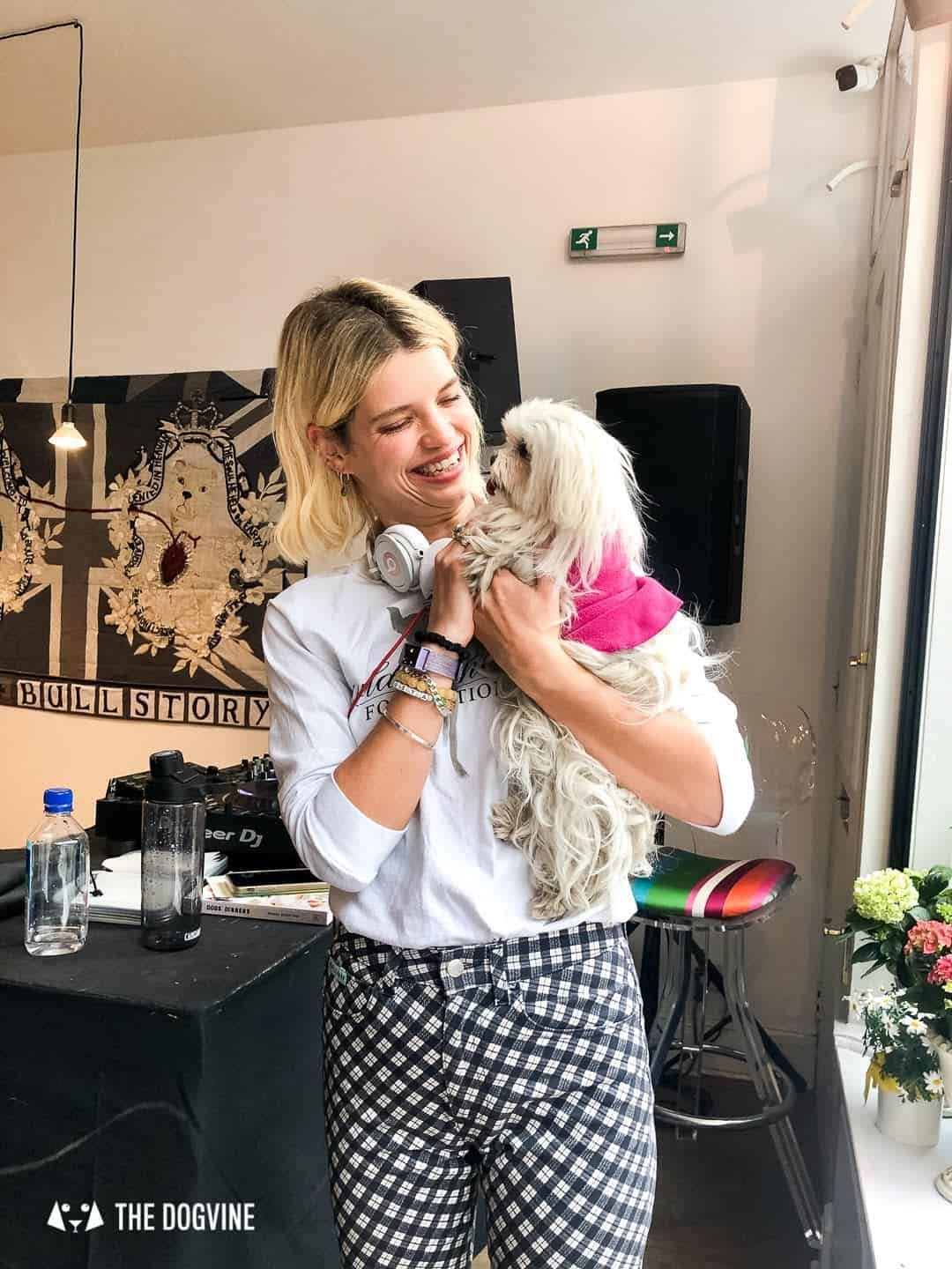 Pup Philanthropy at I Believe In Dog The Pop-up - Pixie Geldof