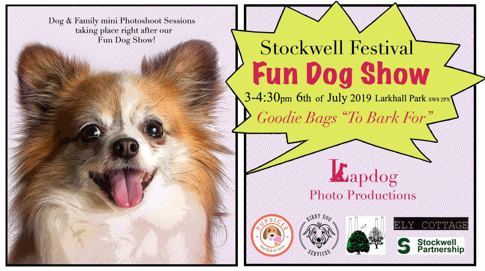 Stockwell Festival Fun Dog Show