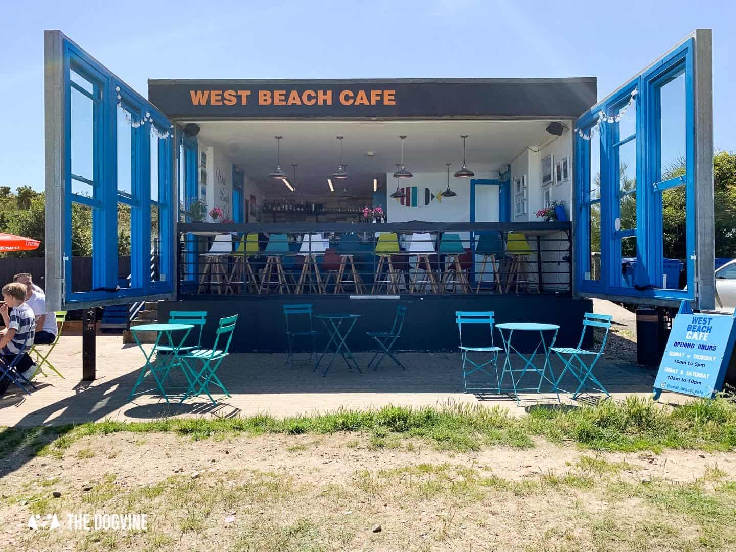 The Best Dog-Friendly Beaches in West Sussex - Littlehampton West Beach Cafe