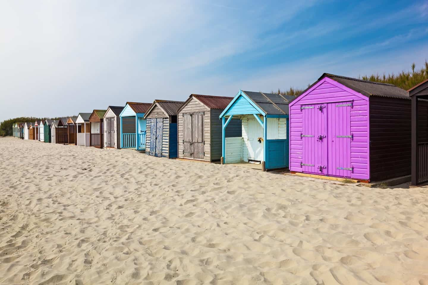 The Best Dog-Friendly Beaches in West Sussex - West Wittering Beach Huts