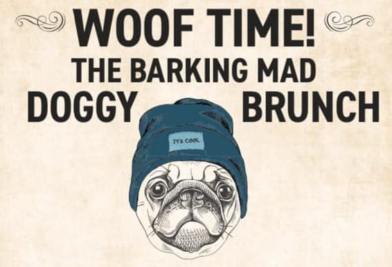 Woof time Doggy Brunch June The Mere Scribbler