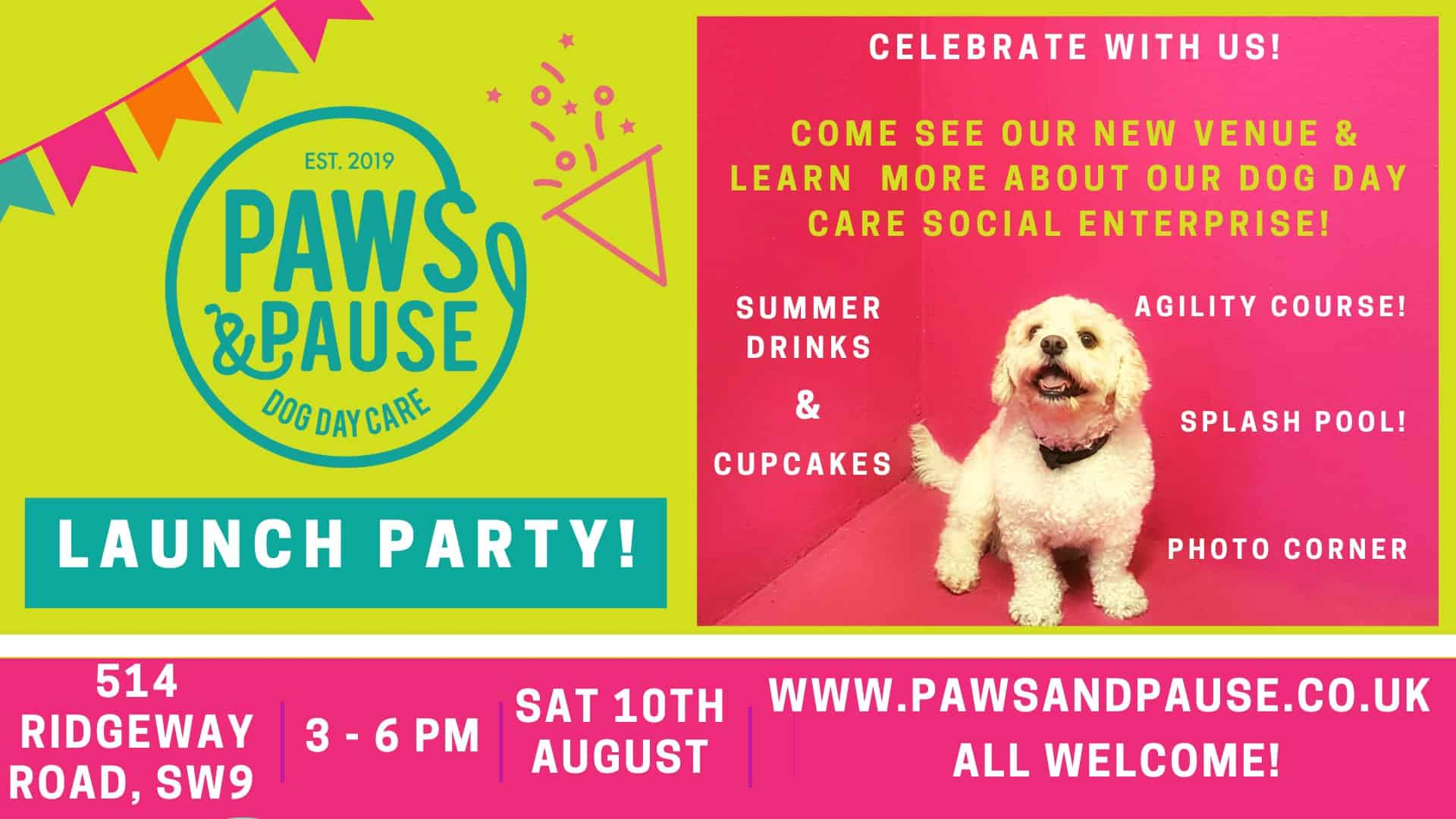 Paws & Pause Launch Party