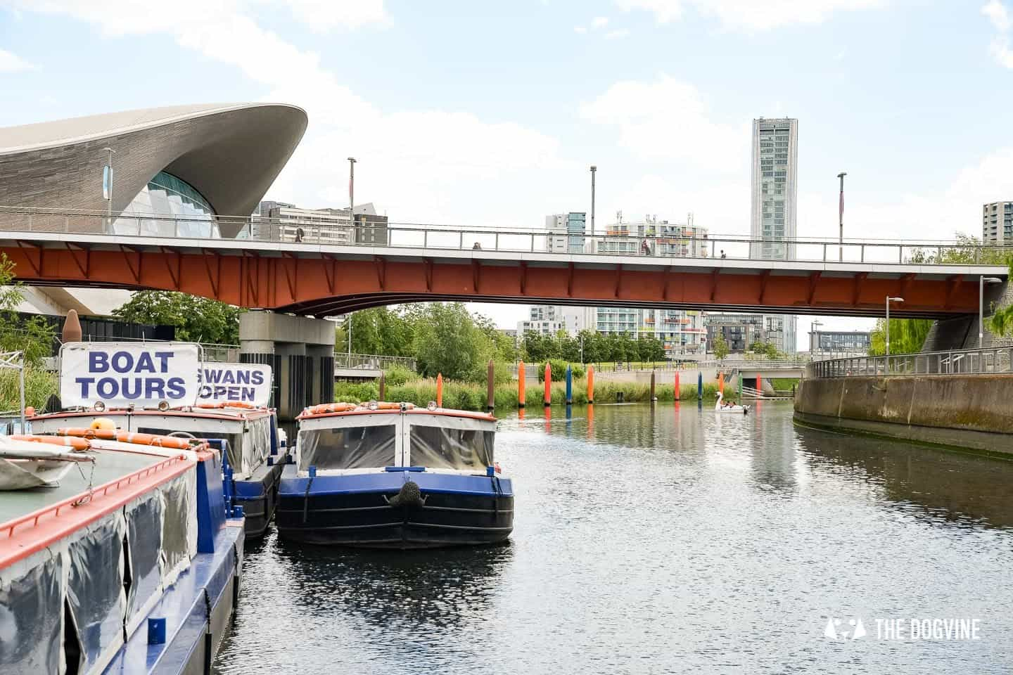 Queen Elizabeth Olympic Park Dog-friendly Boat Tours London - Lee and Stort 1