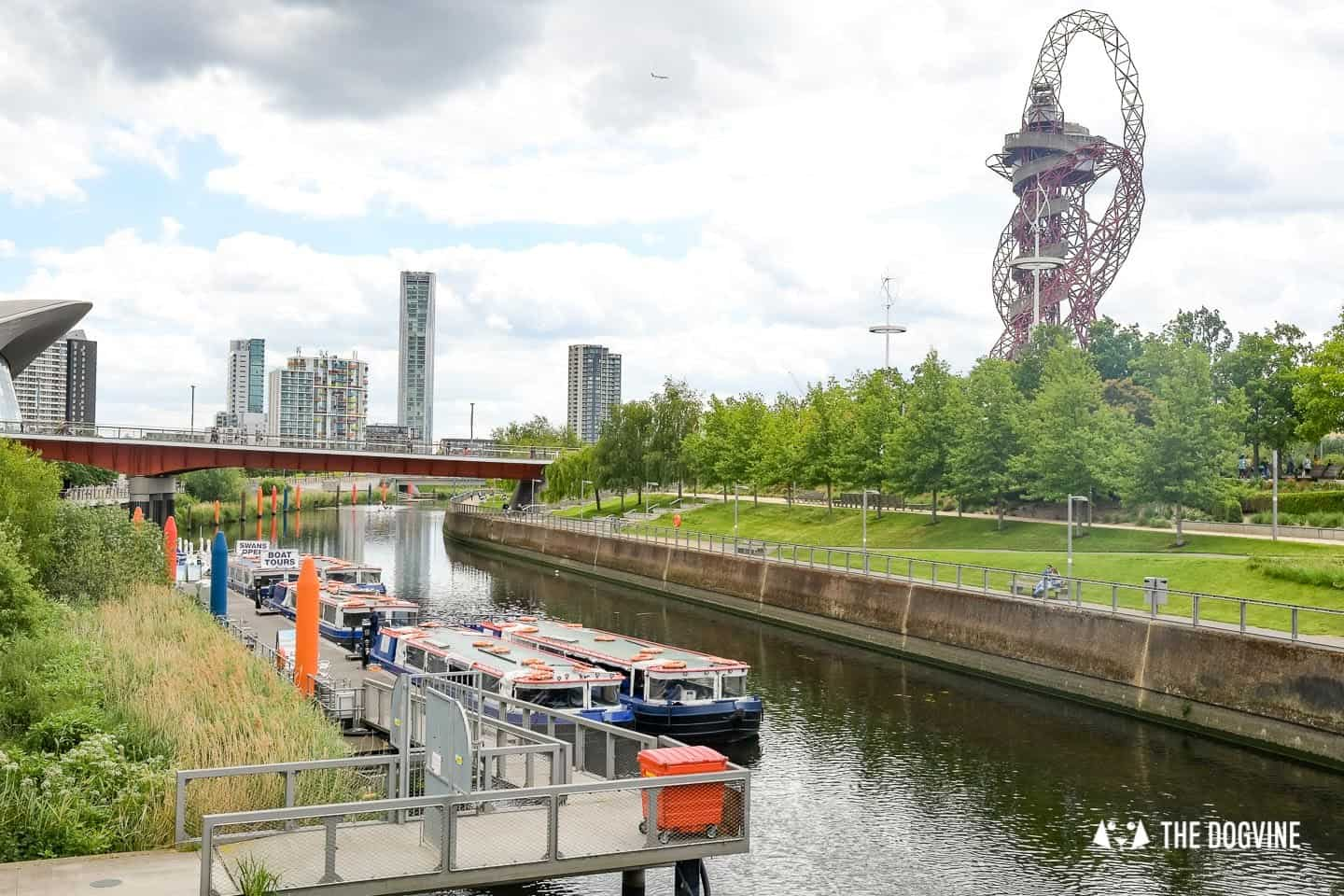 Queen Elizabeth Olympic Park Dog-friendly Boat Tours London - Lee and Stort 22