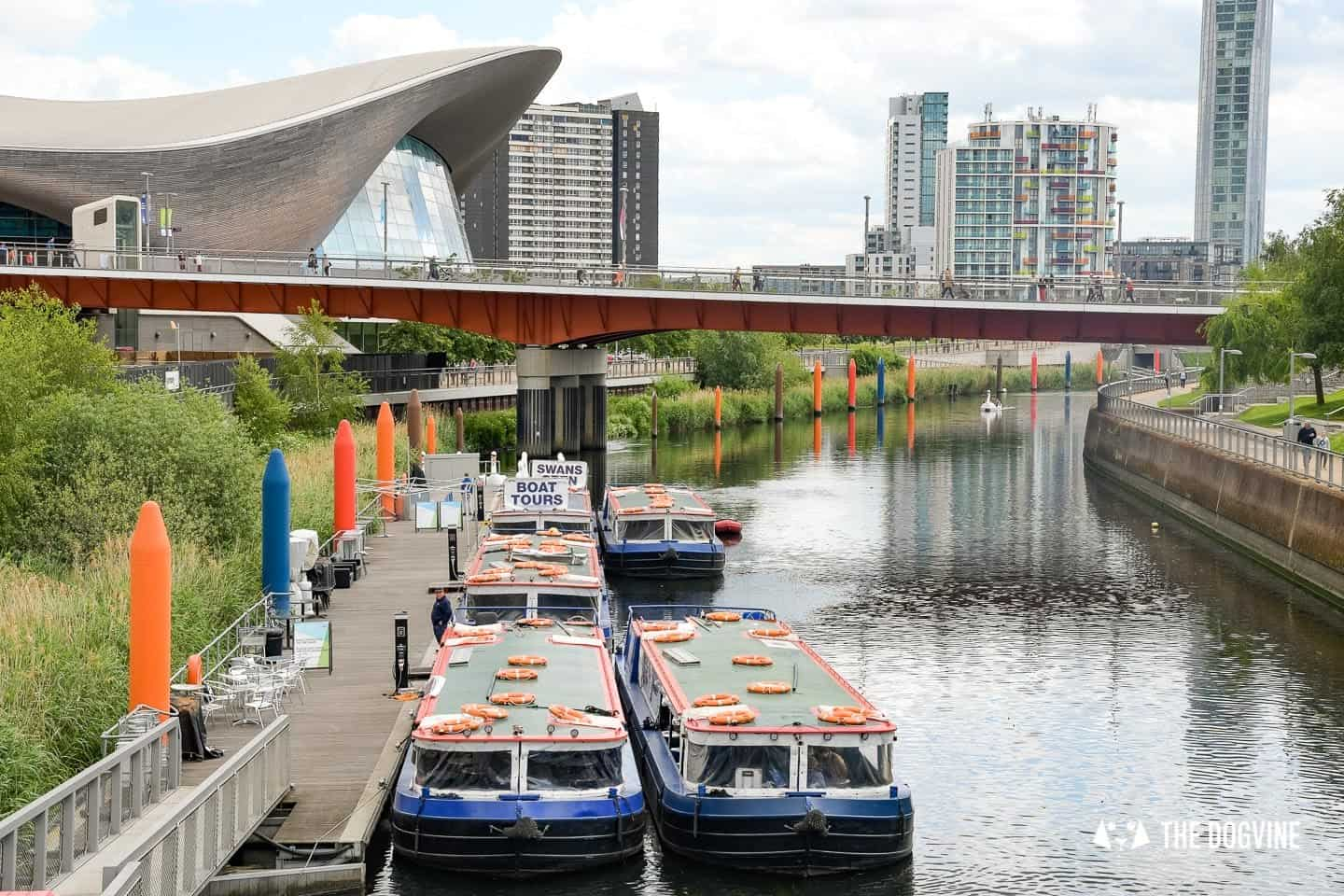 Queen Elizabeth Olympic Park Dog-friendly Boat Tours London - Lee and Stort 23