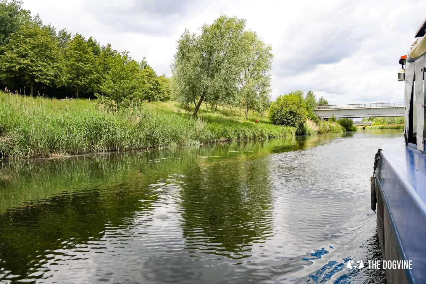 Queen Elizabeth Olympic Park Dog-friendly Boat Tours London - Lee and Stort 4