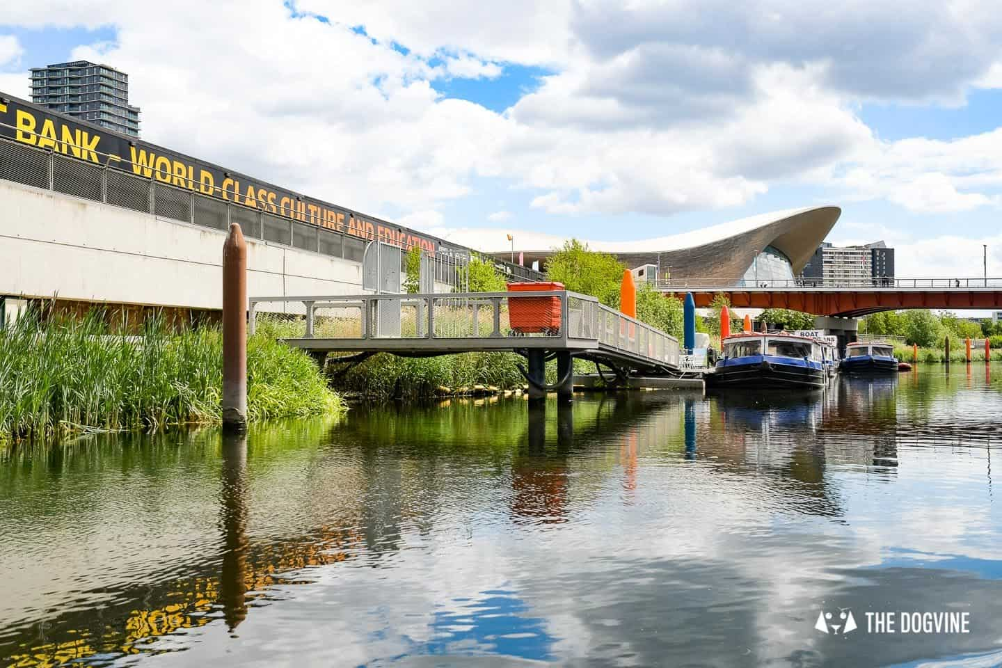 Queen Elizabeth Olympic Park Dog-friendly Boat Tours London - Lee and Stort 9