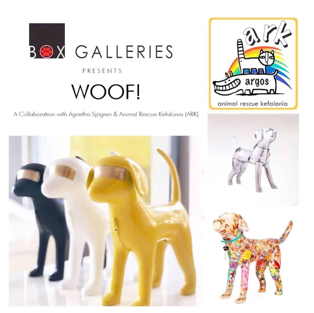 Woof Exhibition at Box Galleries x Agentha Sjogren