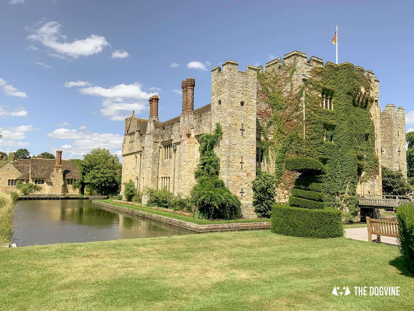 8 Reasons To Visit the Stunning Dog-friendly Hever Castle 3