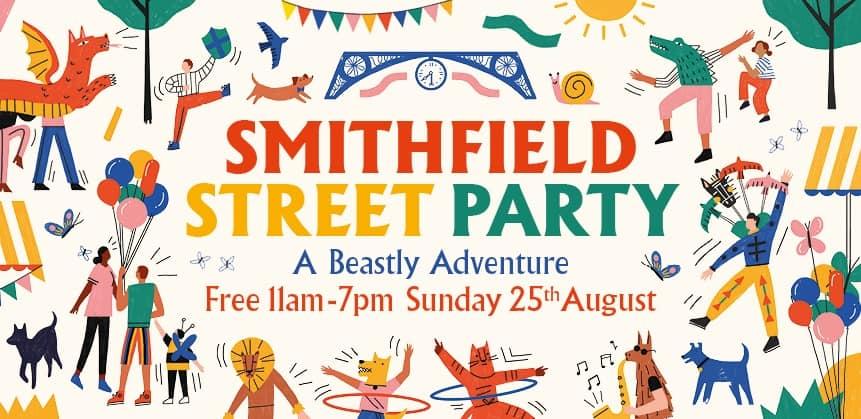 Smithfield Street Party: A Beastly Adventure