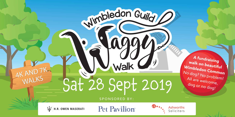 Wimbledon Guild Waggy Walk 2019