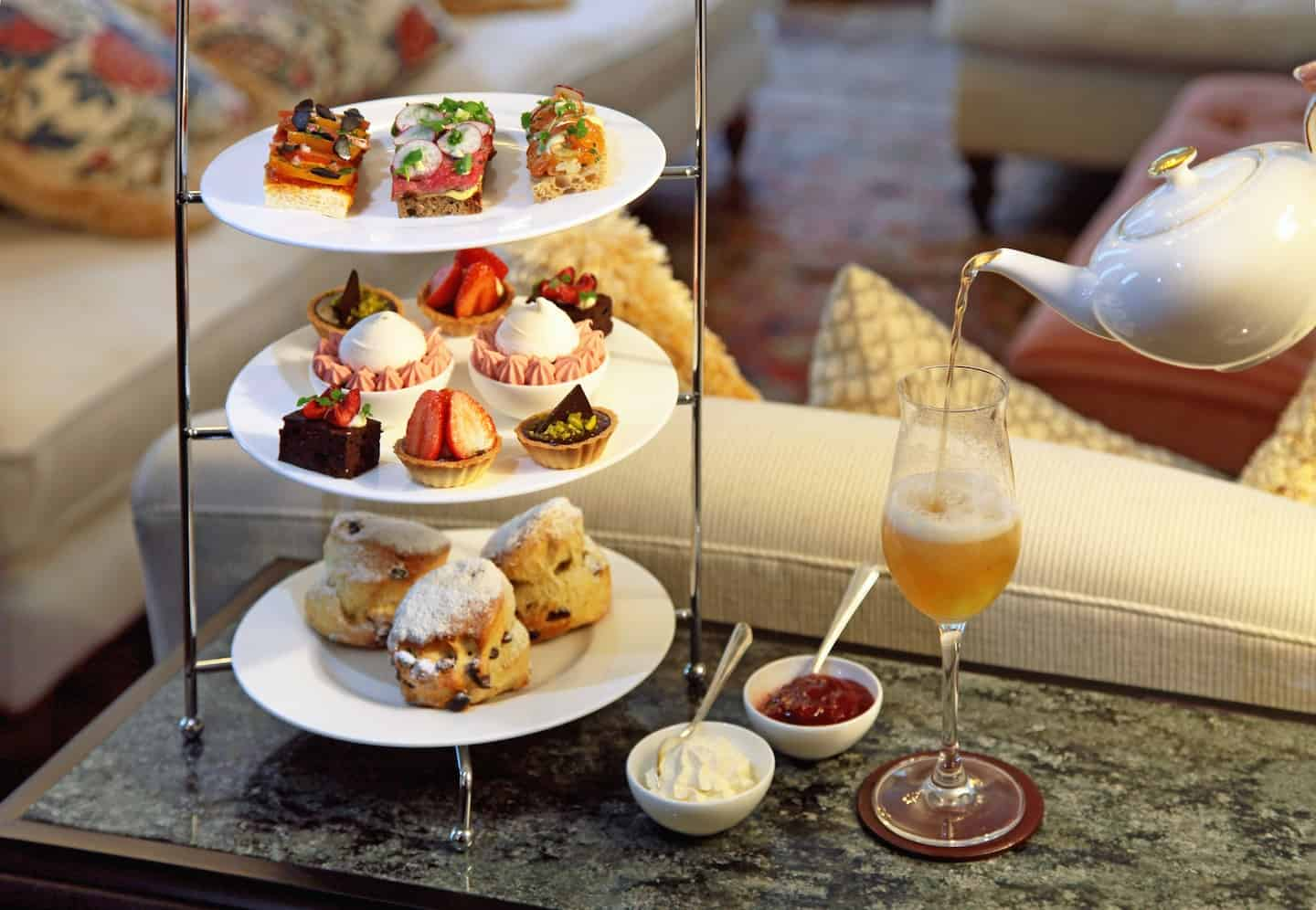 Best Dog-friendly Afternoon Teas in London - No. Fifty Cheyne Afternoon Tea