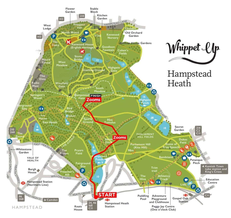 Whippet Up September 2019 Map