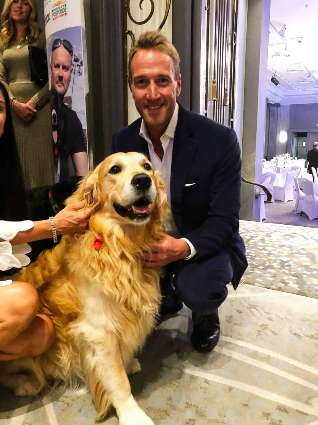 Animal Hero Awards 2019 - Claude with Ben Fogle
