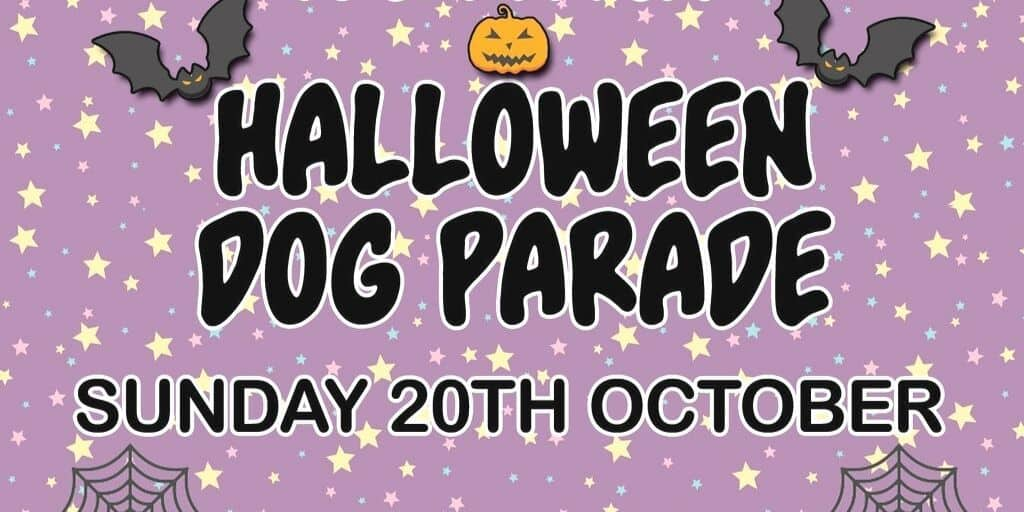 Halloween Dog Parade Duck Pond Market Ruislip