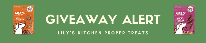 Lily's Kitchen Proper Treats Giveaway Alert