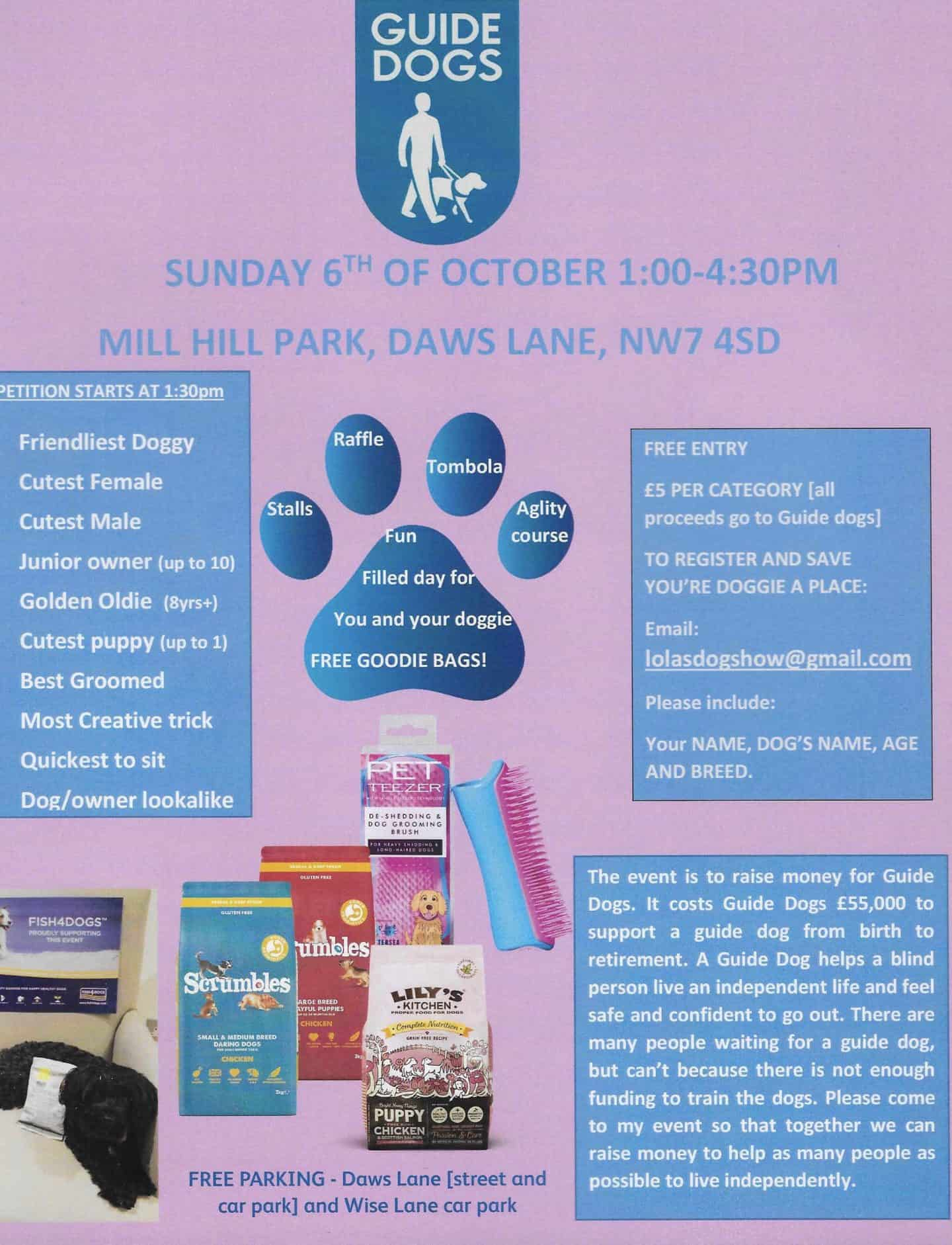 Lola's Dog Show - Guide Dogs