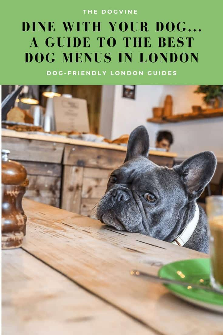 Dine With Your Dog - Dog Menus in London