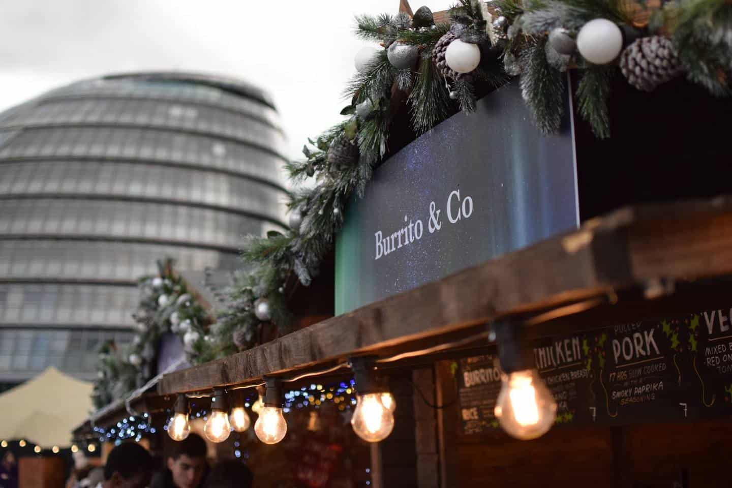 Dog-friendly Christmas Markets in London - Christmas By The River
