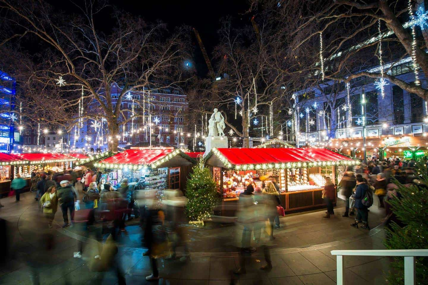 Dog-friendly Christmas Markets in London - Christmas in Leicester Square