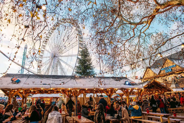 Dog-friendly Christmas Markets in London - Winter Wonderland